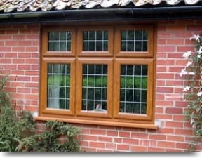 uPVC Woodgrain Casement Windows